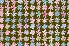 Hand drawn flower illustrations background, good for graphic design. Details, cover, effect & drawing. Hand drawn flower illustrations background, good for royalty free illustration