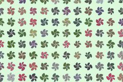 Hand drawn flower illustrations background, good for graphic design. Concept, effect, backdrop & pattern. Hand drawn flower illustrations background, good for vector illustration