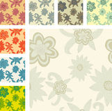 Hand drawn flowers Royalty Free Stock Photography