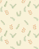 Hand Drawn Foliage Spring Seamless Pattern Vector. Simple Foliage Vector Background. Stock Photo