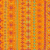 Hand drawn  folkloric  seamless pattern Stock Photo