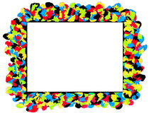 Hand drawn frame. Royalty Free Stock Image