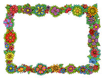 Hand drawn frame Royalty Free Stock Image