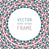 Hand drawn frame Royalty Free Stock Images