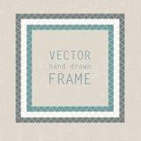 Hand drawn frame Stock Photo