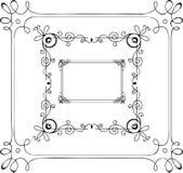 Hand-Drawn Frames vector illustratie