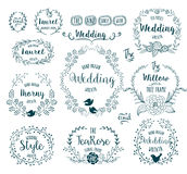 Hand Drawn Frames Royalty Free Stock Photos