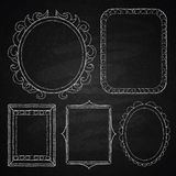 Hand drawn frames. Royalty Free Stock Photography