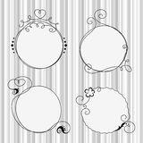 Hand drawn frames 3 Royalty Free Stock Photography