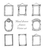 Hand drawn frames eps8 Stock Photography