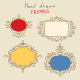 Hand Drawn Frames Stock Photos