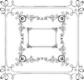 Hand-drawn frames. Hand drawn frames  vector illustration Stock Photos