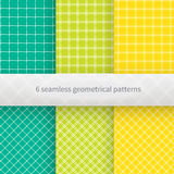 Hand drawn geometrical seamless background. Royalty Free Stock Images