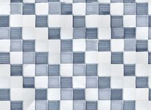 Handdrawn mosaic tile Royalty Free Stock Images