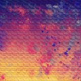 Hand drawn grunge painting. Vintage shiny brush strokes abstract background. Good for: poster, cards, decor. royalty free illustration