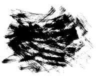 Hand drawn of grunge texture. Brush strokes. Royalty Free Stock Photo