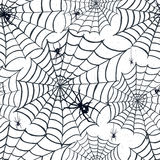 Hand drawn Halloween seamless pattern. Royalty Free Stock Photos