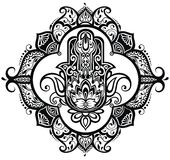 Hand drawn hamsa Royalty Free Stock Photos