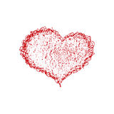 Hand drawn heart Royalty Free Stock Photo