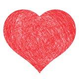 Hand Drawn Heart Royalty Free Stock Photos