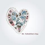 Hand drawn heart Royalty Free Stock Image