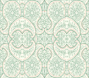 Hand-Drawn henna Mehndi Abstract pattern. Royalty Free Stock Photo