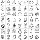 Hand drawn icons 010 Stock Image