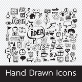 Hand Drawn Icons. An images of Hand Drawn Icons Stock Photo