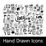 Hand Drawn Icons. An images of Hand Drawn Icons Stock Images