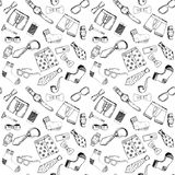 Hand drawn icons Royalty Free Stock Image