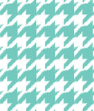 Hand drawn ikat houndstooth seamless pattern Stock Images
