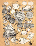 Hand drawn illustration Stock Photo