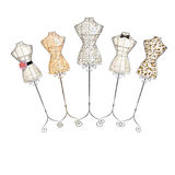 Hand drawn illustration - fashion mannequin Royalty Free Stock Photography