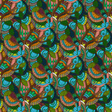 Hand-drawn illustrations. Color natural abstraction. Seamless pattern. Royalty Free Stock Photos