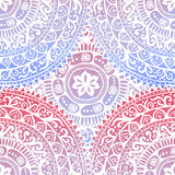 Hand drawn indial seamless pattern Stock Photography