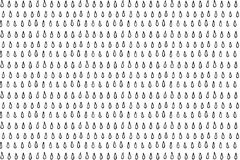 Hand drawn ink seamless pattern. S from different shapes and elements Stock Images