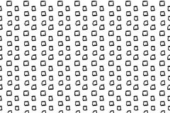 Hand drawn ink seamless pattern. S from different shapes and elements Royalty Free Stock Photography