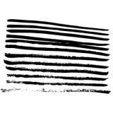 Hand-drawn inktinzameling Stock Afbeelding