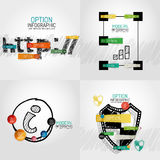 Hand drawn internet concepts and stickers Royalty Free Stock Image