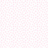 Hand drawn irregular spots seamless background. Organic different shapes. Pastel pink color Royalty Free Stock Images