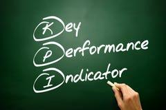 Hand drawn Key Performance Indicator (kpi) concept, business str Royalty Free Stock Image