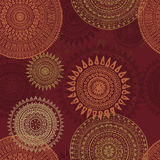 Hand drawn lace background in african style Royalty Free Stock Photo