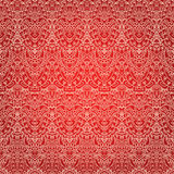 Hand drawn lace patten, seamless wallpaper, vector illustration Royalty Free Stock Photos