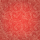 Hand drawn lace patten, seamless wallpaper Stock Image