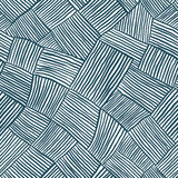 Hand drawn lines seamless pattern. Stock Image