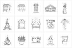 Free Hand Drawn Logo Elements And Icons Royalty Free Stock Photography - 150196607