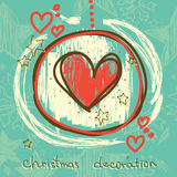 Hand drawn lovely background for wedding/christmas/valentine day Royalty Free Stock Photos