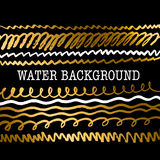 Hand drawn lux background Royalty Free Stock Photography