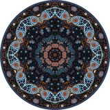 Hand-drawn mandala design.Circle, round, pattern Royalty Free Stock Photos