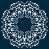Hand-drawn mandala design. Concept image circle for card, yoga studio, meditation. Hand-drawn mandala design. Concept image circle for card, yoga, coloring book vector illustration